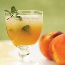 Персик и ром